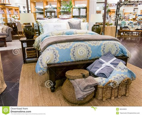 home design bedding home decor store in dubai mall editorial stock photo
