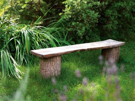 outdoor log bench diy outdoor bench ideas for garden and patio