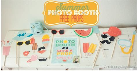 free printable photo booth props summer summer photo booth props free printable photo booth props