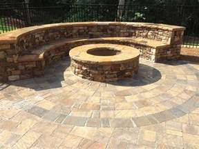 Circle Paver Patio Kits Belgard Flagstone Pavers Circle Paver Patio Designs