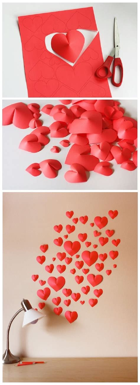 easy valentines day decorating with cool diy ideas for valentines day easy project tutorial