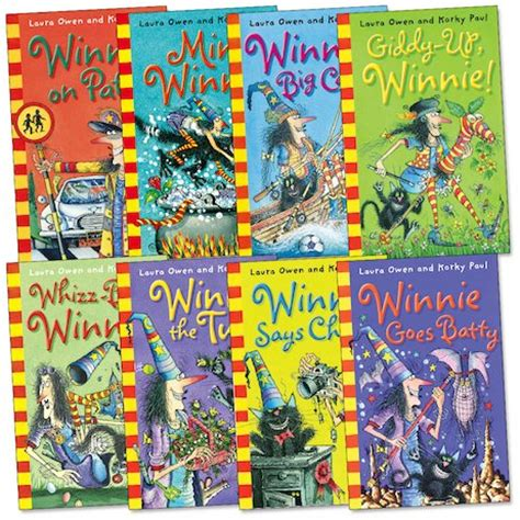 is a witch books winnie the witch pack scholastic club