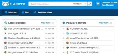 dropbox filehippo essential free software downloads for windows