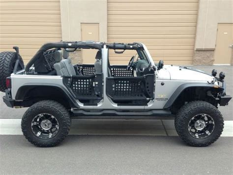 Jeep Wrangler Net Doors Sell Used 2007 Jeep Wrangler Unlimited Sport