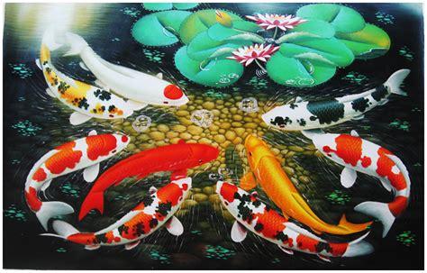 Tinta Emas Di Kanvas Dunia lukisan pembawa kekayaan