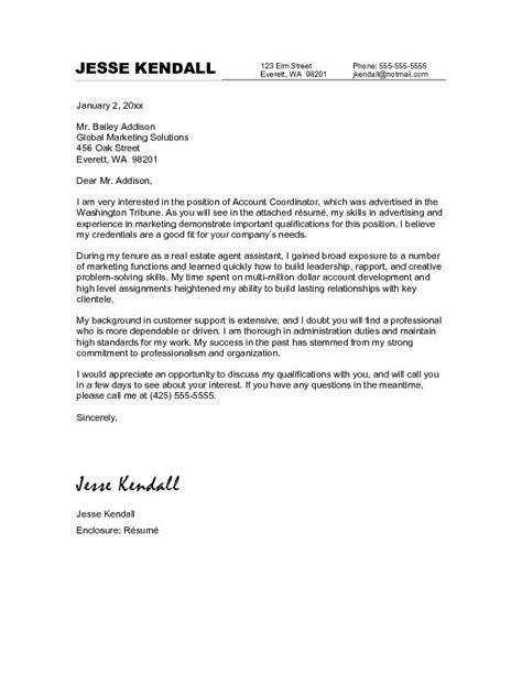 cover letter exles for marketing marketing manager cover letter sle recentresumes