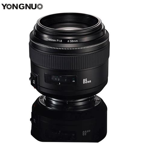 Yongnuo 85mm F1 8 For Canon yongnuo yn 85mm f1 8 lens now available digital