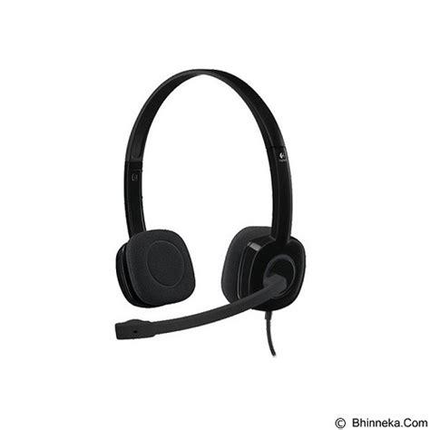 Logitech Stereo Headset H 151 jual logitech stereo headset h151 981 000587 murah bhinneka