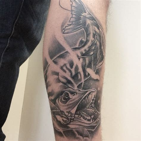 tattoo pike by ariane tattoo