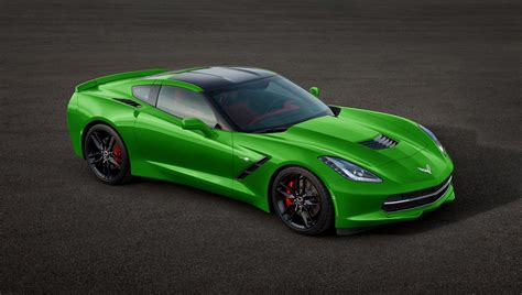 corvette stingray green chevrolet c7 corvette stingray in many colors