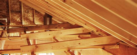 How To Frame Ceiling Joists by Physics And Other Framing Lessons Diydiva