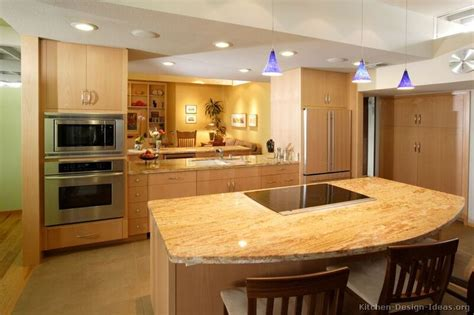 yellow kitchen countertops kitchen idea of the day modern light wood kitchens