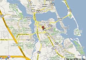 map of suburban extended stay stuart stuart