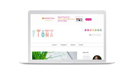 fiona genesis theme food blog wordpress theme themes
