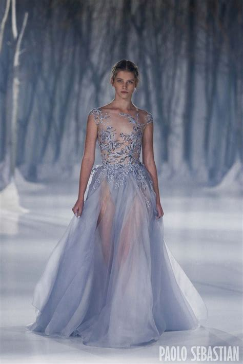 Snow Dress 17 best images about paolo sebastian 2016 a w couture on