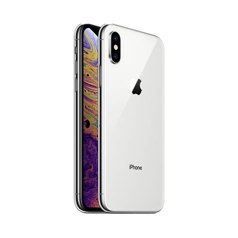 refurbished apple iphone xs max 256gb silver unlocked a mac4sale