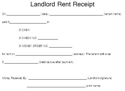 rent receipt template ontario best landlord receipt template images resume ideas