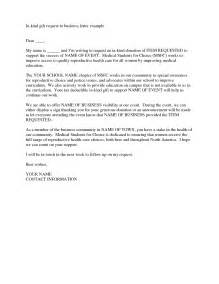 business donation letter template in donation letter best business template