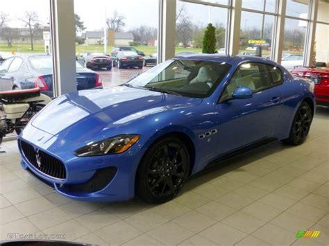 maserati granturismo blue 2013 sofisticato sport blue metallic maserati