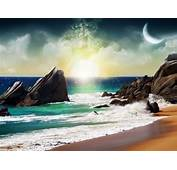 Fantasy Beach 1400x1050 Wallpapers