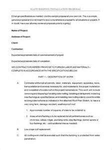 Installation Contract Template by 5 Roofing Contract Templates Free Pdf Format