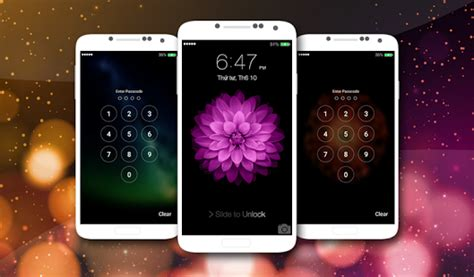 lockscreen iphone 6s ios 9 apk
