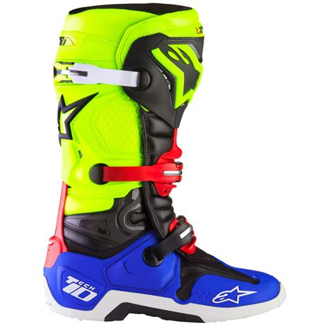 what size motocross boots do i need alpinestars tech 10 a1 special edition blue yellow fluo