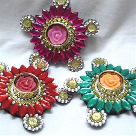 Handmade Diwali Items - 79 best images about diya design on diwali