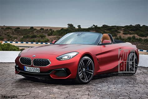 2020 bmw z4 m roadster 2020 bmw z4 roadster previewed in leaked patent images