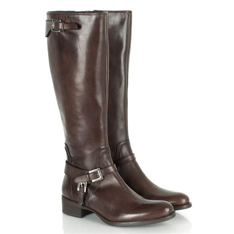 daniel brown s shelduck knee high boot