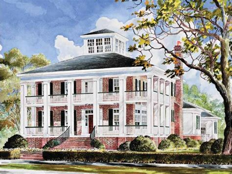 dream homes source plantation house plan with 3655 square feet and 4 bedrooms
