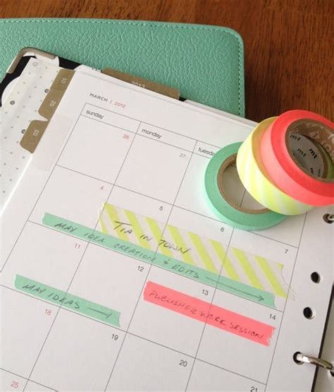 what is washi tape used for best 25 washi tape planner ideas on pinterest