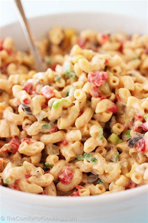 best pasta salad recipe creamy macaroni salad