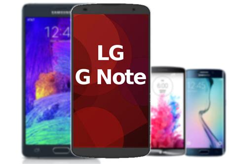 note g lg g note everything we know so far