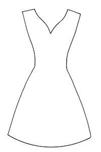 template pattern là gì make a dress on a hanger card allaboutyou com