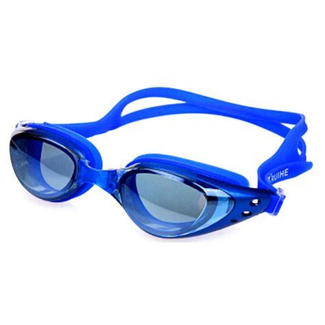 Kacamata Renang Anak Anak Anti Fog Dan Topi Renang kacamata renang anti fog anak dan dewasa blue