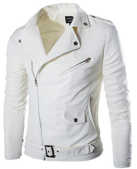 White Motorcycle Jackets Jackets