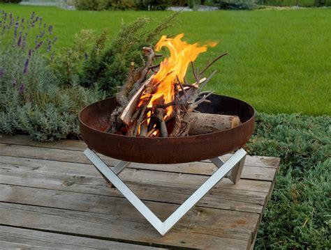 Design Feuerschale by Svenskav Design Feuerschale Z Terrassenfeuer Feuerstelle