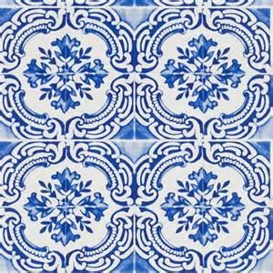 House Plan Designer azulejos cobalt wallpaper christian lacroix