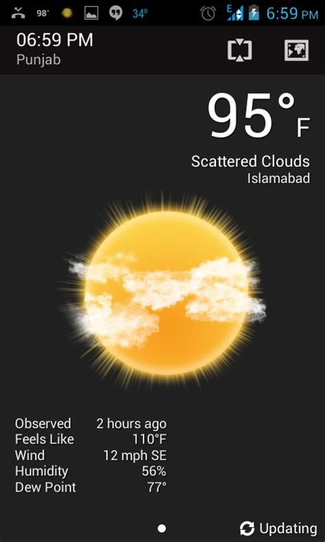 weather app for android phone types of android apps which a user should coming more