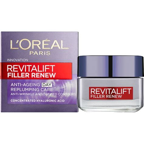 Loreal Day And l oreal revitalift filler renew anti ageing day