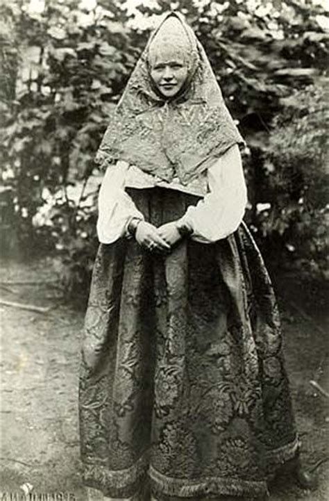 russian peasants 19th century russian peasant woman from kostroma province in her