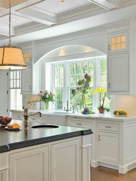 cuisine blanche avec ilot central la cuisine avec ilot cuisine bien structur 233 e et