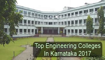 Top Mba Colleges In Karnataka Pgcet by Top Engineering Colleges In Karnataka 2017 List Rating