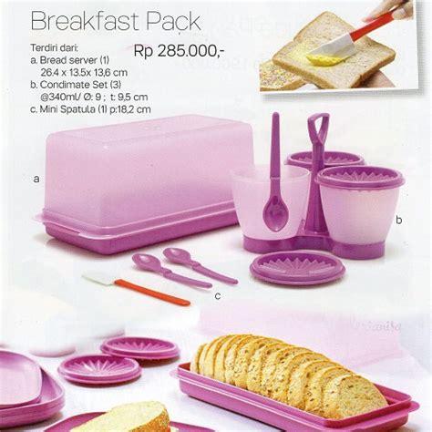 Mosaic Bread Lover Tupperwere breakfast pack tupperware indonesia katalog promo
