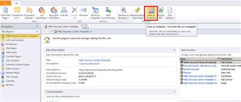 site collection template matt s sharepoint creating a sharepoint 2010 site