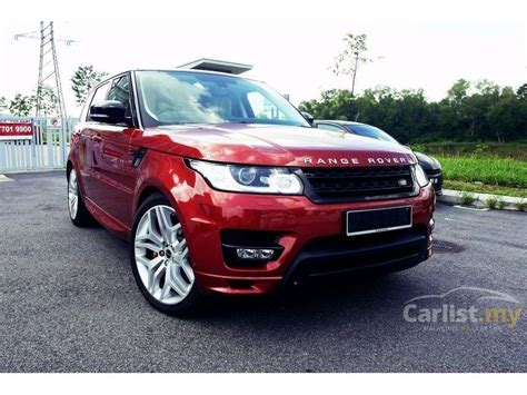maroon range rover land rover range rover sport 2013 autobiography 5 0 in