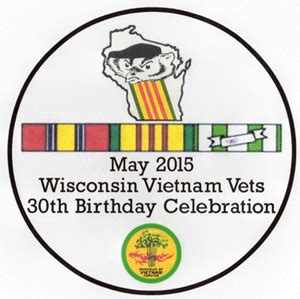 Wisconsin The 30th State by Wvv Birthday Celebration