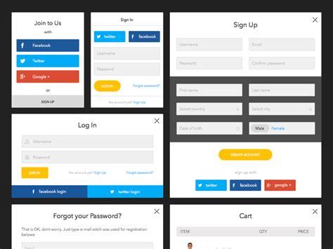 design form app amber forms lite kit sketch freebie download free