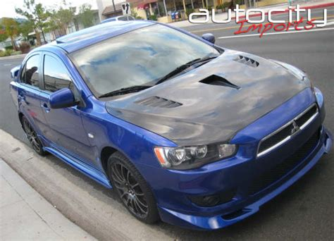 2008 mitsubishi lancer gts performance parts 2008 mitsubishi lancer aci gts xtreme lip kit sport